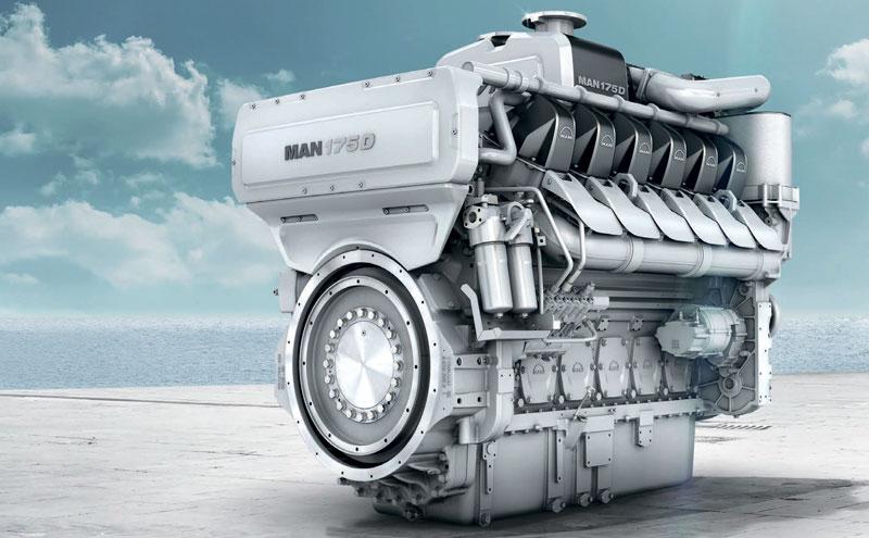 Основные подвижные детали судового двигателя